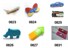 Factory Price PVC or Silicone Toy USB 2.0 3.0 Flash Disk, Drive