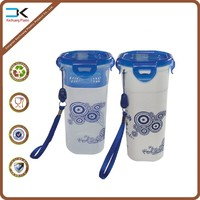 High quality picture printed pp plastic water bottle with filter
