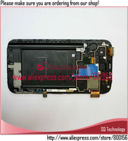 for samsung for galaxy note 2 n7100 lcd with touch screen digitizer and frame assembly repair parts