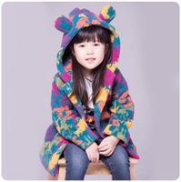 brand clothes kids coats children girl red coat girl
