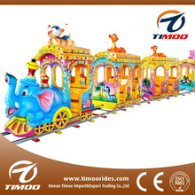 Children games indoor/outdoor playground equipment kids ride on train and track