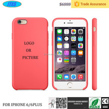 Soft Silicone Skin Gel Case for Apple iphone 6 plus,Silicon Phone Case--Laudtec