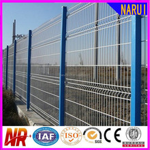 V-Folded Powder Coated Welded Wire Mesh Fences Products