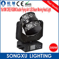 2015 Newest 16x10w cree rgbw 4in1 led moving head beam magic the gathering for stage lighting