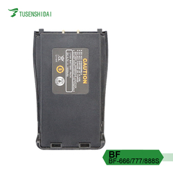 Baofeng Two Way Radio Battery for BF-666S/777S/888S Walkie Talkie 1500mah Li-ion Battery Pack
