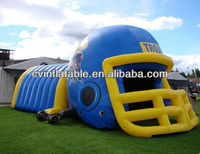 inflatable helmet,inflatable football helmet tunnel,inflatable football helmet