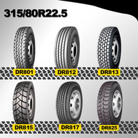 double road truck tire r22.5 truck tire 315/80r22.5 good quality neumatico