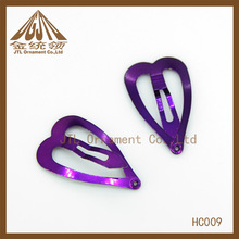 high quality nice metal girl butterfly hair clips