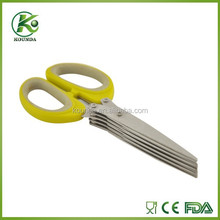 Mutiple layers easy cleaning heathy multilayers bend scissors
