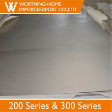 High Quality Vibration Finish No. 4 1.4372 1.5mm Thick Stainless Steel Plate