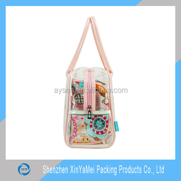 promotional PVC shopping tote bags