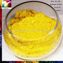 Pr yellow ZL-500 ceramic glaze pigment