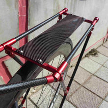(BKA-CRC-1) Bike Carbon Carrier with LED & Bicycle Rear Rack