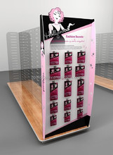 Fashion Secrets Accessories Merchandising Display, fashion accessories display stand, graphic panels can be flashing advertising
