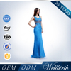 New Long Chiffon Royal Blue Bridesmaid Dress Patterns Gown Ball Party Cocktail Evening Prom Dress