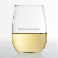 LongRun china wholesale Stemless White Wine Glass Set-4 pcs imported beer brands