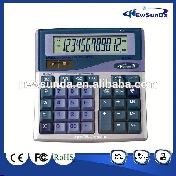 プラスグラフ電卓テキサスインスツルメンツti-8414桁税rd-924チェックし、 正しい電卓