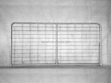 High quality galvanized goat fence gate / metal animal farm fence panel