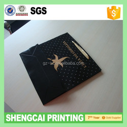 Wholesale Custom Recycled Jewelry Shopping Paper Bag With Logo Print