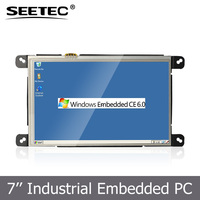 "Mini USB input embedded open frame tablet PC 7"" tft with Lan Port RJ45 RS232 interface Industrial control system"