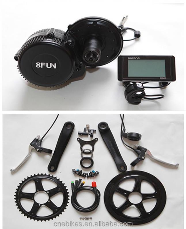 36v 250w mid driven e bike conversion motor kits 8fun!hot