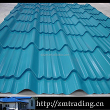 easy to set up coated roofing material