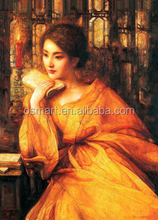 Chinese woman portrait oil painting Beautiful Chinese Women Hot chinese girl Art Canvas Paintings oil painting for bedroom
