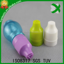 Food grade 10ml plastic bottle for e cigarette/e juice/nicotine bottle