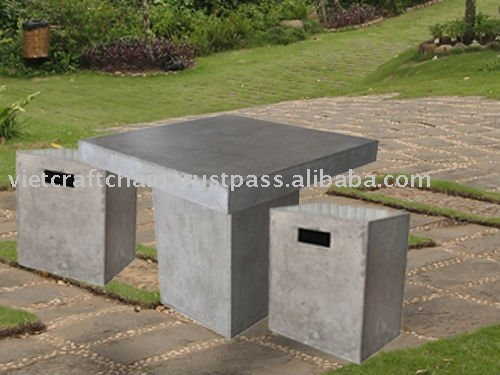 Light Cement Table Lite Concrete Furniture Lightweight Concrete Buy Concrete Outdoor Furniture