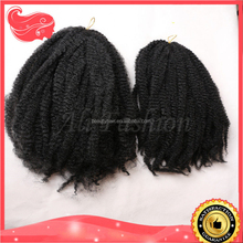 2015 New Fashion Afro Kinky Twists 100% Kanekalon Braiding Hair for Black Women Free Shipping Synthetic Hair Braid Hair