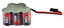 EP/Vigorpower/Enrich power Battery 6V 1500mAh NiMH Battery Pack