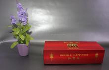 custom print square red cigarette box fro wholesale /cigarette case box with magnetic lock closure /flip top red cigarette box