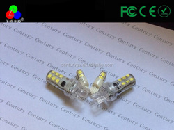 New car packing and turning 1156 led car light 12 smd with dc 12v ice blue, blue, yellow, pink turning and parking light