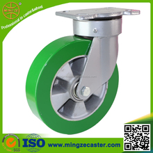 Heavy Duty elastic PU swivel casters and wheels