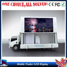 Alibaba express outdoor mobile truck/trailer led display, led video wall