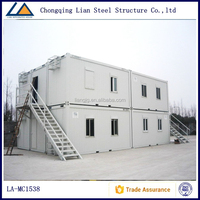 House Prefabricated Modular Container Homes 40ft For Office