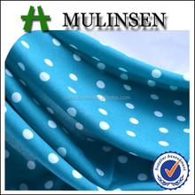 Mlinsen textil de lana de melocotón impreso lunares Vintage tela