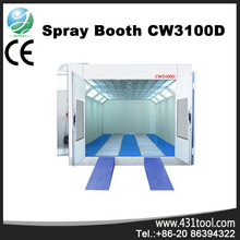 Better value and durable CW3100D car spray booth filter with 8KW intake fan