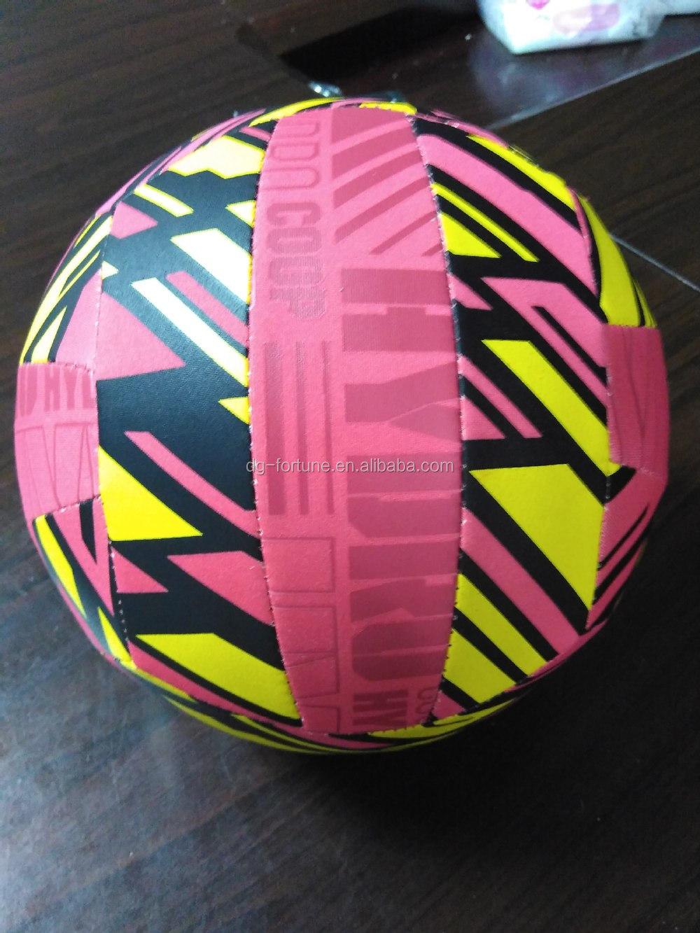 Venda quente NEOPRENE vôlei de praia inflável para as crianças brincam na piscina ou na praia