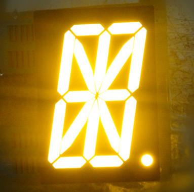 Elevator parts 2.3 inch 16 segment alphanumeric led display for lifts elevator display