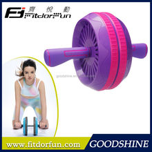 Feva Roller-Customized Special Multicolored Silicon Handle Dual Ab Roller Machines