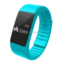 Newest private mould smart pedometer,health sport bluetooth bracelet manual