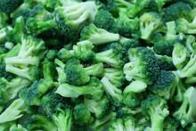 IQF broccoli, frozen broccoli, frozen vegetables