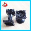 Yamahas Complete Black Front Rear MX Wheel CNC Hub YZ 125 250 YZF 250 450 07-15