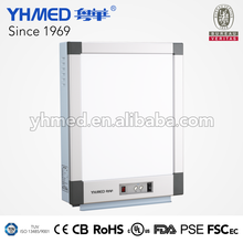 3000 cd/square meter Medical High Brightness X Ray Film Viewer