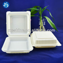 Corn starch container/eco-friendly box/biodegradable corn starch food container