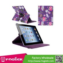 The Best 360 Degree Rotatory Stand Leather Case for iPad 2 3 4