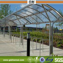 100% bayer sólido Material de lámina de policarbonato para estación de autobuses