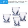 transparent glass, bohemia crystal decorative glassware wholesale