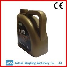 5L HDPE screw cap plastic oil drum/petrol jerry can